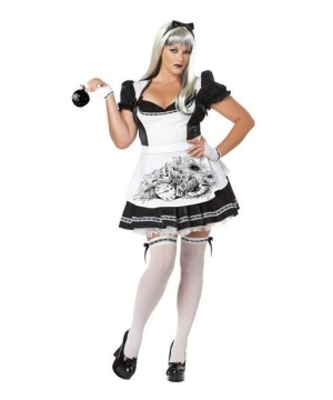 Dark Alice Women plus size Costume
