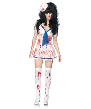 Decaying Sailor Debbie Women Costume