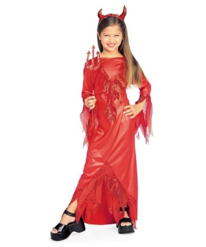 Devilish Diva Costume - Kids Costume