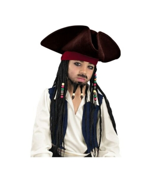Jack Sparrow Kids Hat deluxe