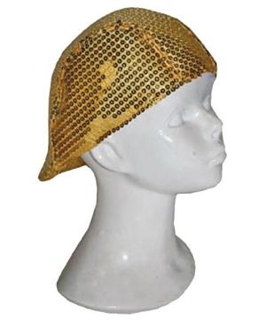 Disco Hat - Costume Accessory - Gold