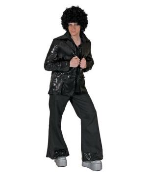 Disco Tux Jacket - Adult Jacket - Black