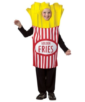 French Fries Kids Costume