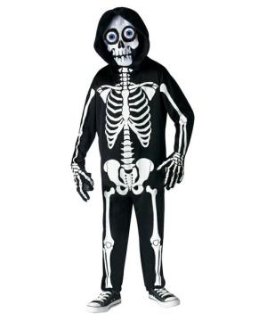 Fright Light Skeleton Boys Costume