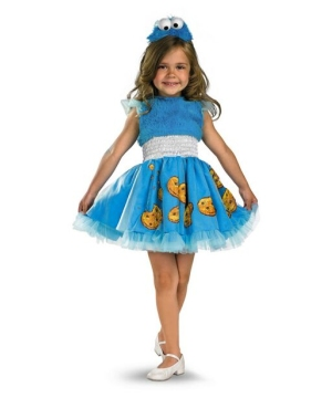 Frilly Cookie Monster Baby Costume