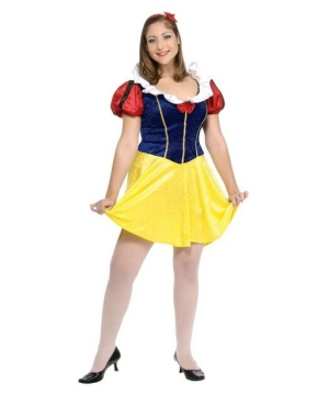 Snow White Adult plus size Costume