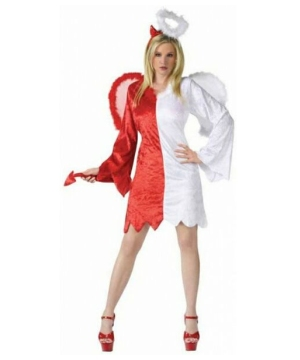 Angel and Devil Womens Costume