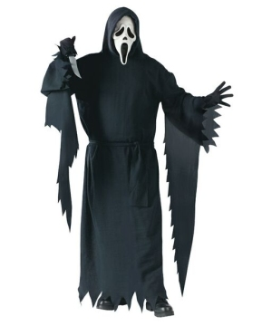 Ghost Face Adult plus size Costume deluxe