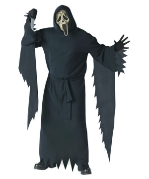 Ghost Face Zombie Adult plus size Costume