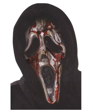 Ghost Face Bleeding Zombie Adult Mask