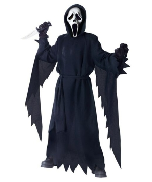Ghost Face Kids Costume