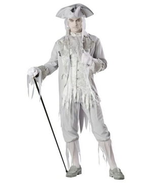 Ghost Gentleman Mens Costume Theatrical