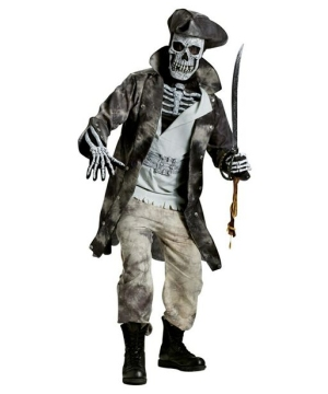 ghost pirate men halloween costume