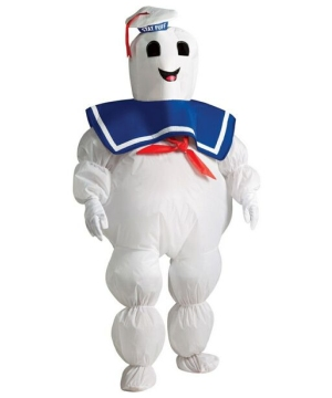 Ghostbusters Stay Puft Marshmallow Man Inflatable Kids Costume