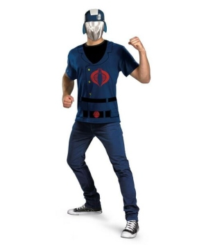 Gi Joe Cobra Commander Adult Costume Kit