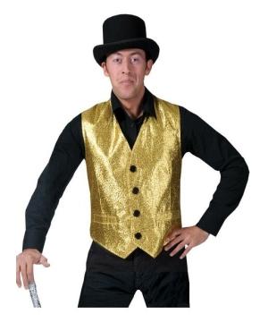 Gold Vest Costume