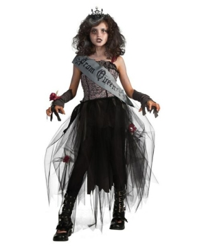 Goth Prom Queen Kids Costume