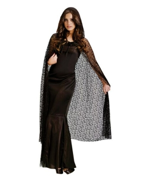Gothic Net Cape - Adult Cape