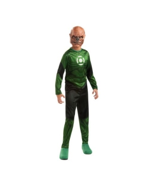 Green Lantern Kilowog Kids Costume