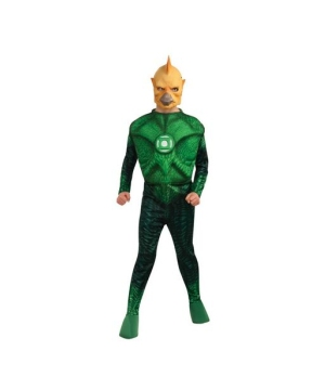 Green Lantern Tomar-re Muscle Kids Costume