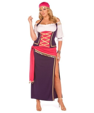 Gypsy Maiden Adult plus size Costume