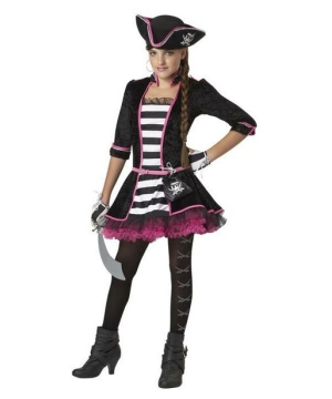 High Seas Pirate Teen Costume