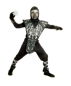 Ice Dragon Ninja Kids Costume
