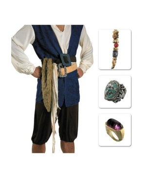 Captain Jack Sparrow Jewelry Costume Kit