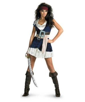 Sassy Jack Sparrow Lady Pirate Costume