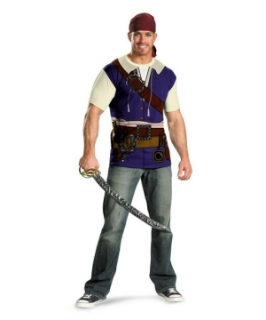 Jack Sparrow Adult plus size Pirate Costume