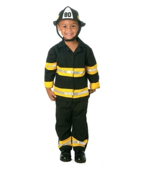 Junior Fireman Costume - Toddler Costume