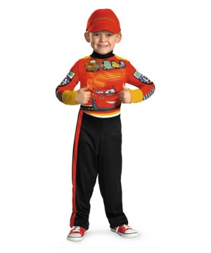 Lightning Mcqueen Kids Costume