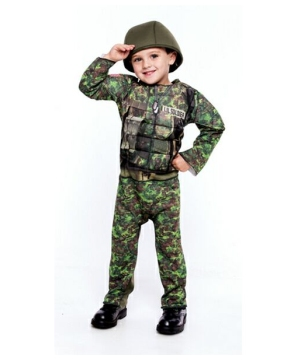 Little big Commando Baby Costume