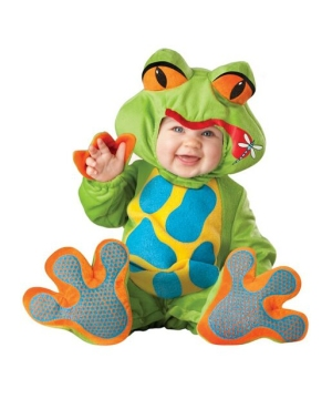 Little Froggy Baby Costume