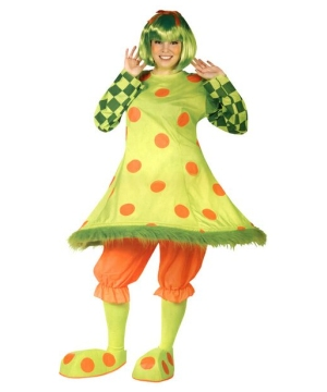 Lolli Clown Adult plus size Costume