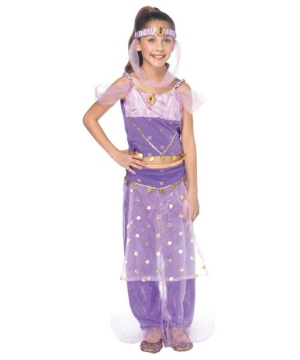 Magic Genie Disney Girls Costume