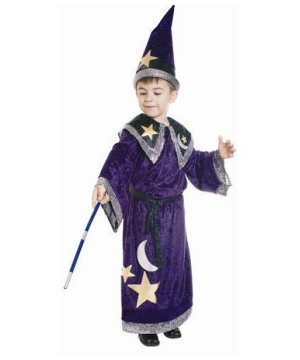 Magic Wizard Boys Costume