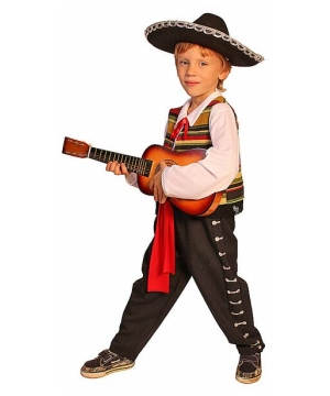 Mexican Mariachi Boys Costume