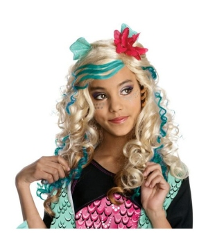 Monster High - Lagoona Blue Wig - Child Wig