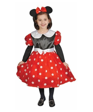 Ms Mouse Girls Costume
