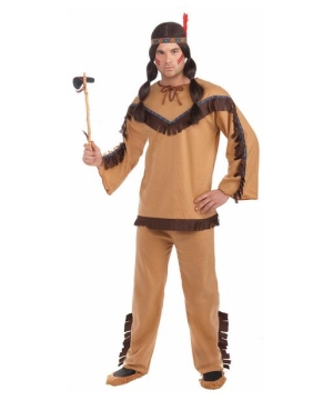 Native American Brave Costume - Adult Indian Costume