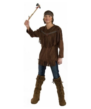 Native American Brave Costume - Teen Indian Costume