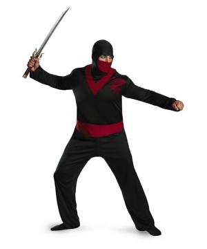 Ninja Warrior Adult plus size Costume