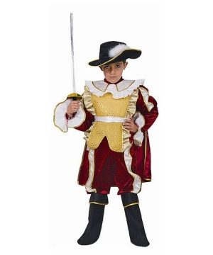Nobel Knight Boys Costume