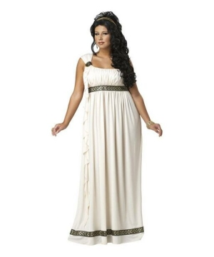 Olympic Goddess Women Plus size Costume