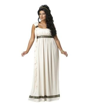 Olympic Goddess Women Plus size Costume