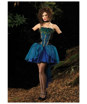 Peacock Princess Adult Costume deluxe