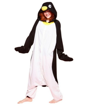 Penguin Pajama Adult Costume