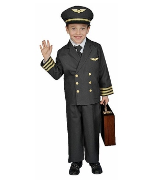 Pilot Boy Costume - Kids Costume