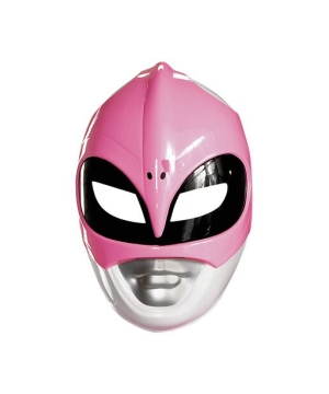 Pink Ranger Adult Mask